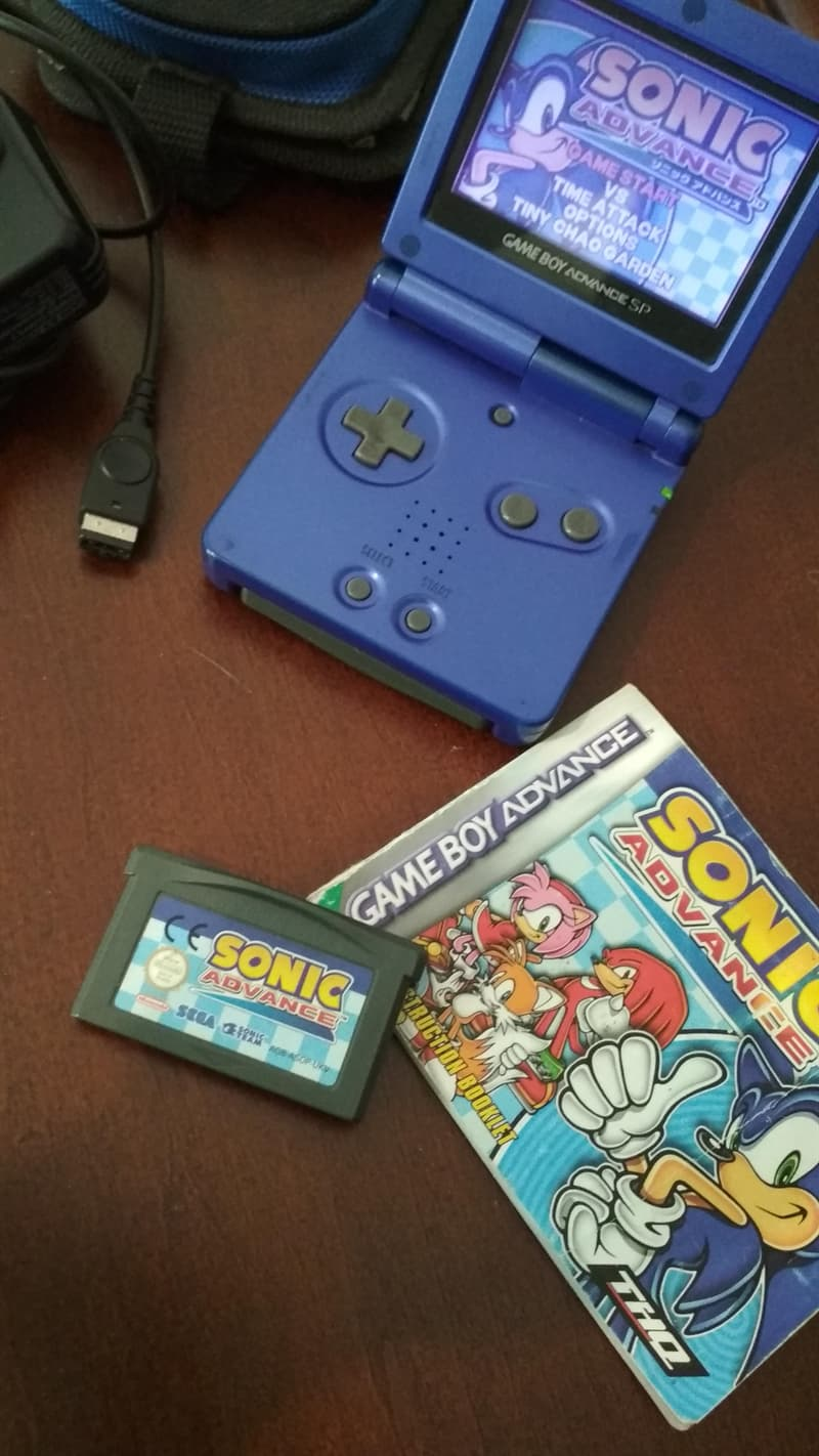 History Story: playing Gameboy interface sonic things we did for the last time nostalgia 90s 80s 70s aesthetic style memory childhood