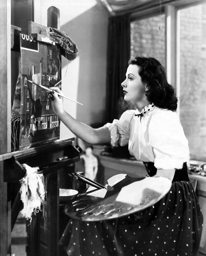 Society Story: Hedy Lamarr's inventions - frequency hopping - Hedy Lamarr biography