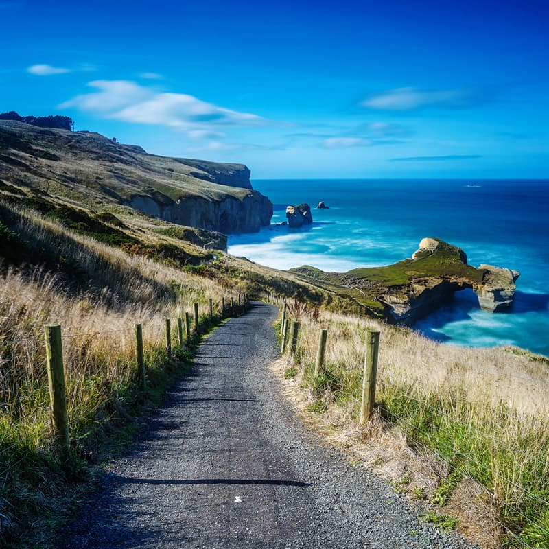 Geography Story: Facts about New Zealand the ocean