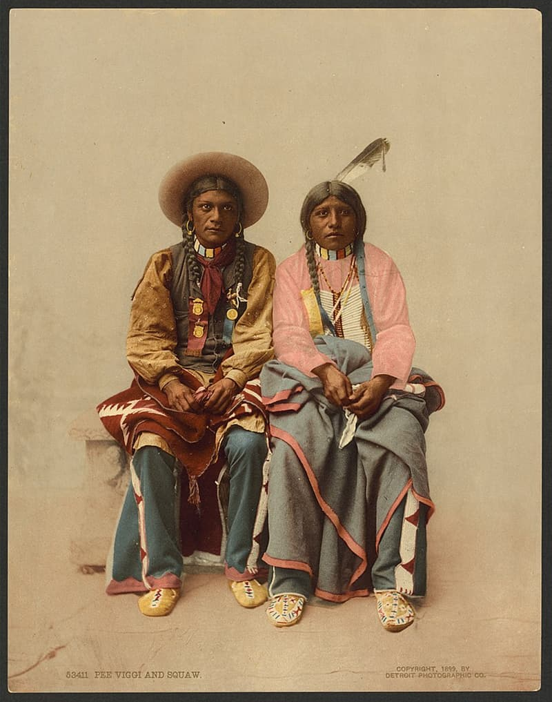 Culture Story: appearance facts about Native Americans tribes USA