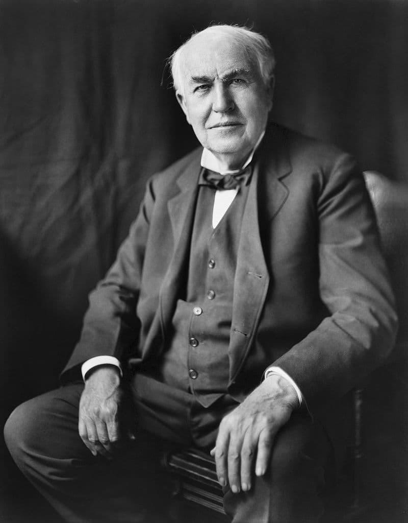 Culture Story: Thomas Edison Salt Test adding salt to their soup unusual work habits