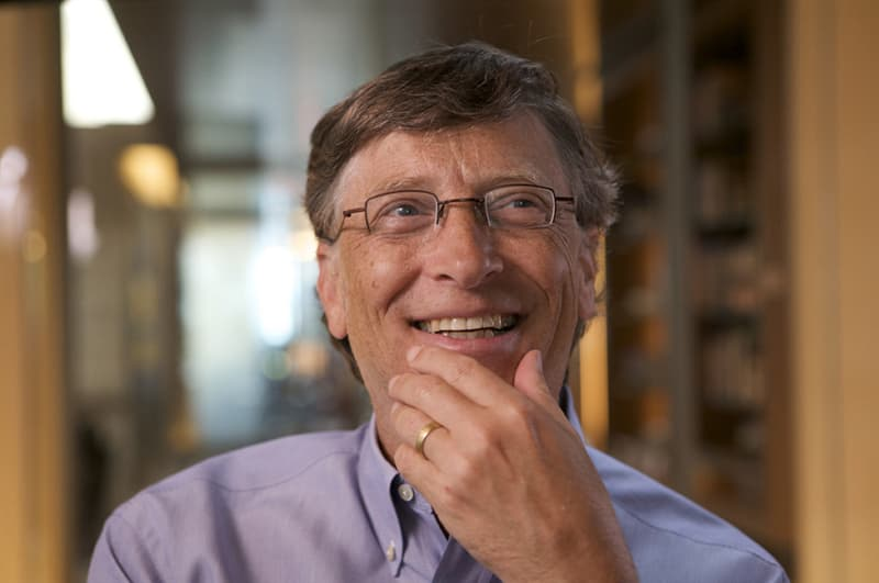 Culture Story: Bill Gates rocking in the chair unusual work habits