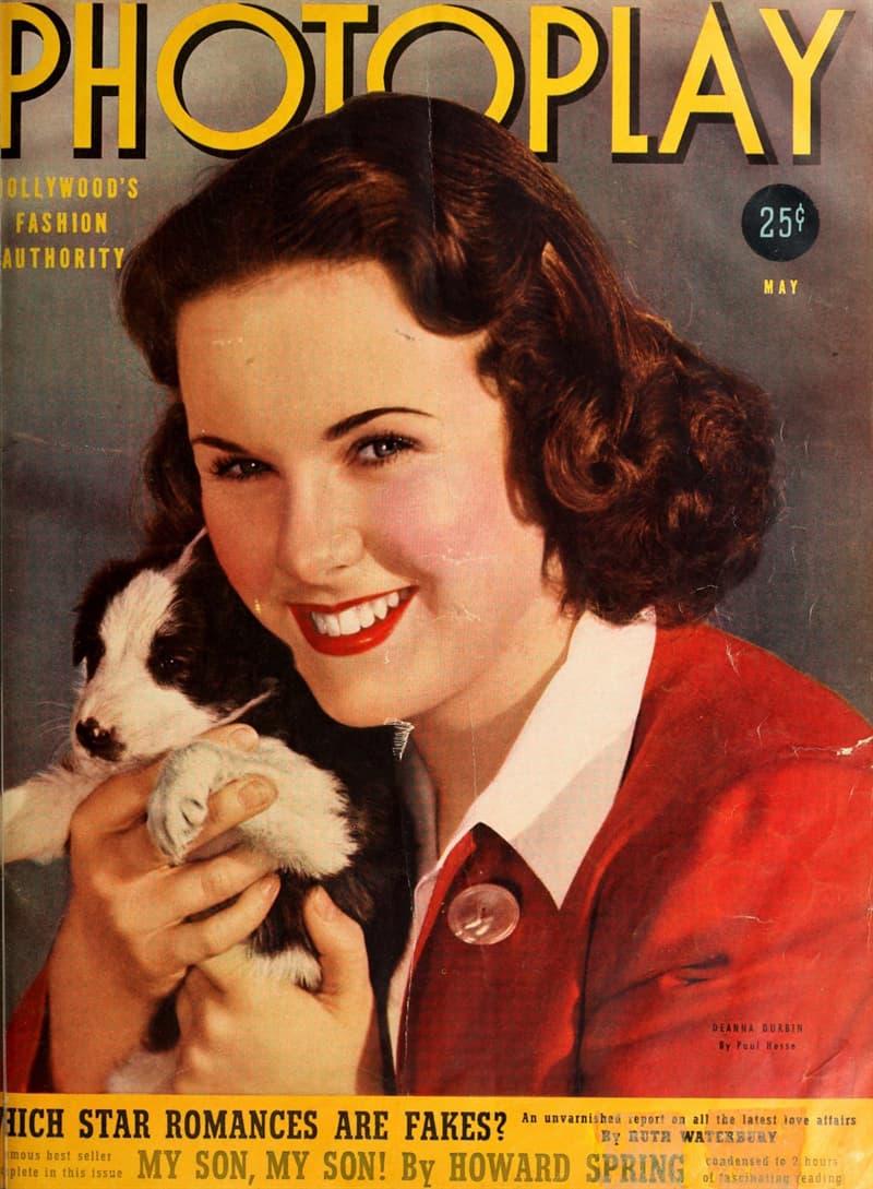 Movies & TV Story: film First Love 1939 Deanna Durbin