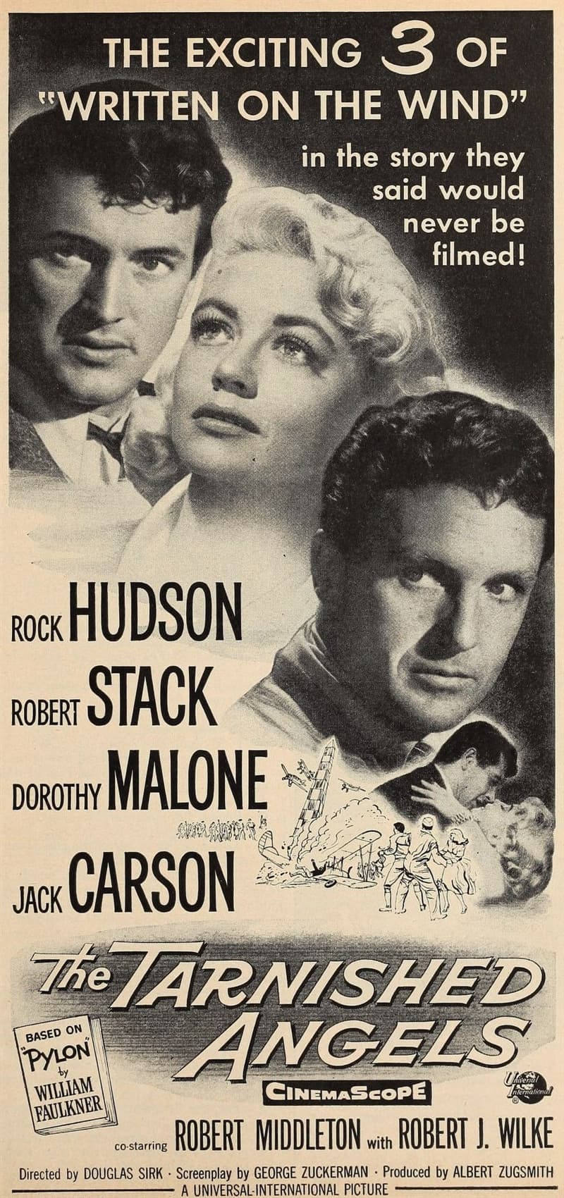 Movies & TV Story: On-screen Pilot roles of Robert Stack