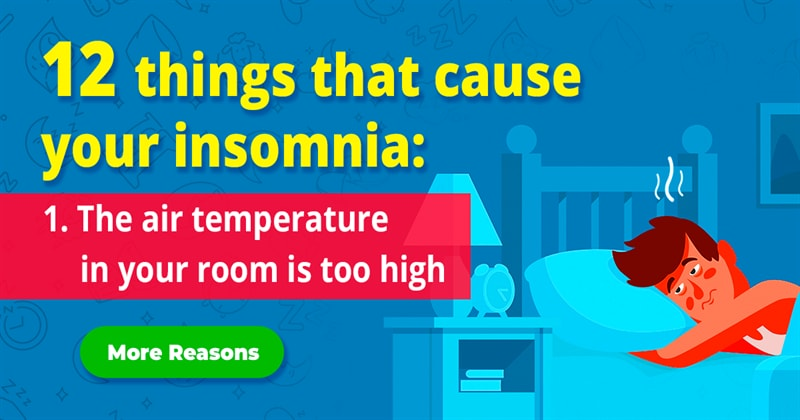 age Story: 12 reasons that cause your insomnia