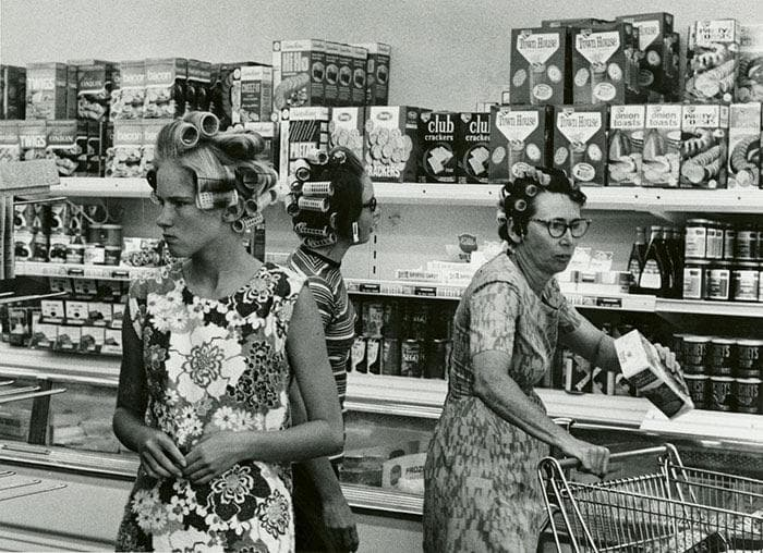 Culture Story: 1960 photos old photos old lifestyle history photo black and white aesthetic photos old vibe old school oldschool The Way We Were Grocery Shopping