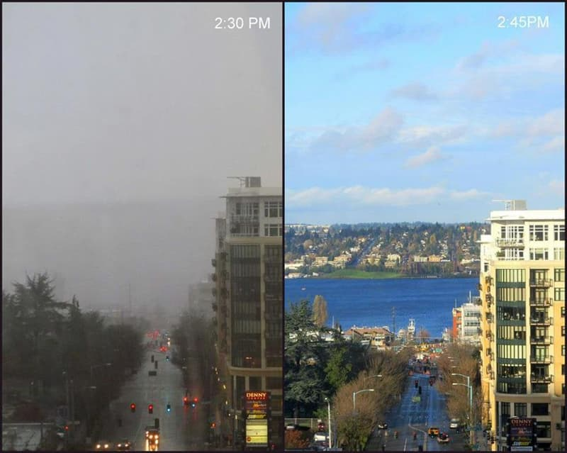 Culture Story: cool comparison pictures side by side comparison photos interesting comparison topics weather in seattle
