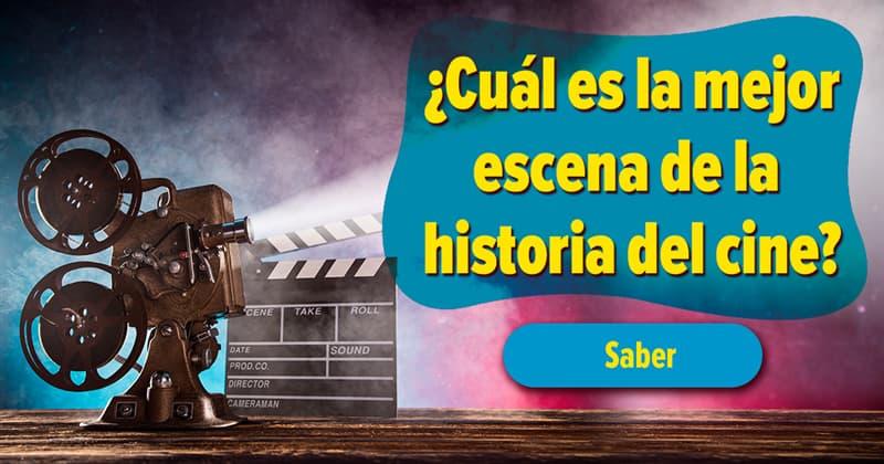 Películas Historia: ¿Cuál es la mejor escena de la historia del cine?