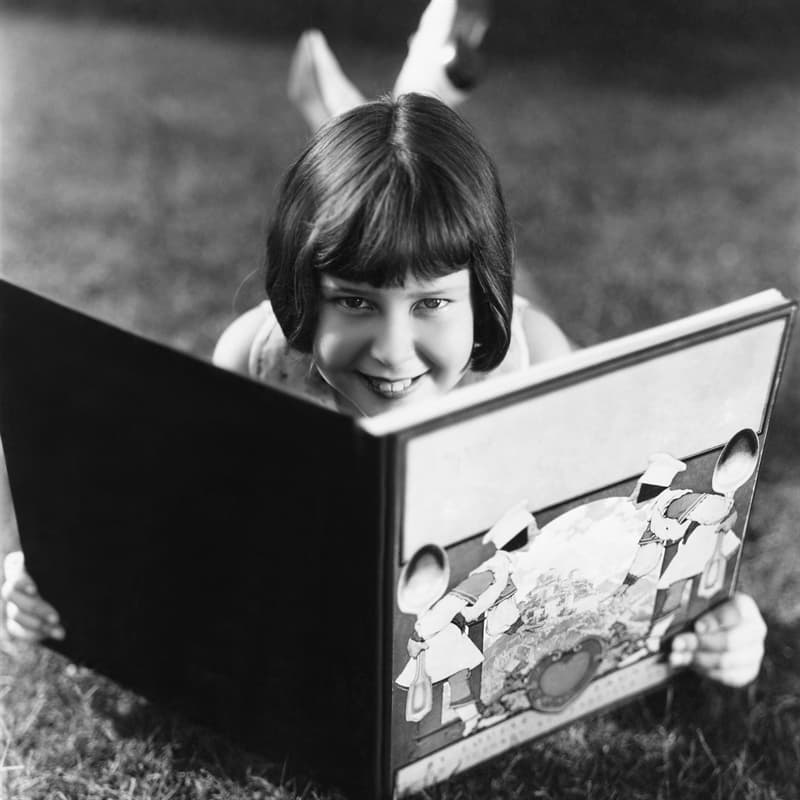 Society Story: best childhood memories reading