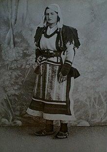 Geography Story: Tringe Smajili greatest Balkan female warrior Sworn Virgin from Albania pray for albania history traditions customs
