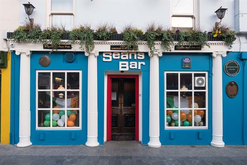 Geography Story: Sean's Bar Ireland