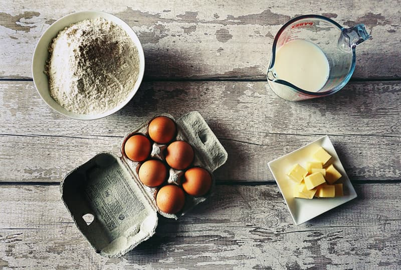 Culture Story: #7 Take dairy products and eggs out of the fridge a couple of hours before making the dough