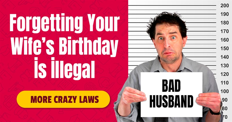 Geography Story: 8 craziest laws in the world