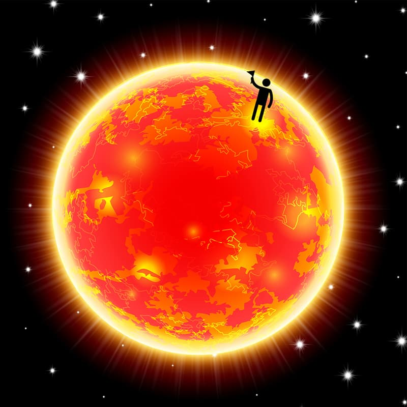 Science Story: #1 People lived on the sun