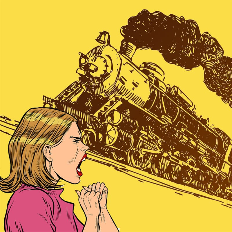 Science Story: #3 Trains were believed to cause insanity