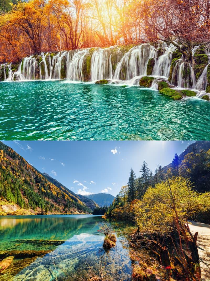 Geography Story: 2. Jiuzhaigou National Park