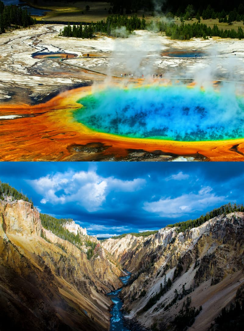 Geography Story: 5. Yellowstone National Park