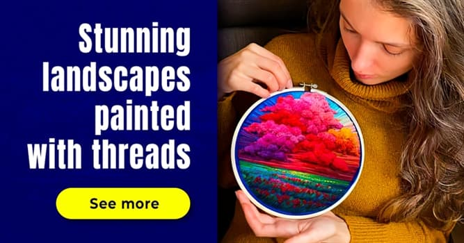 Culture Story: 10 beautiful landscape thread paintings you must see