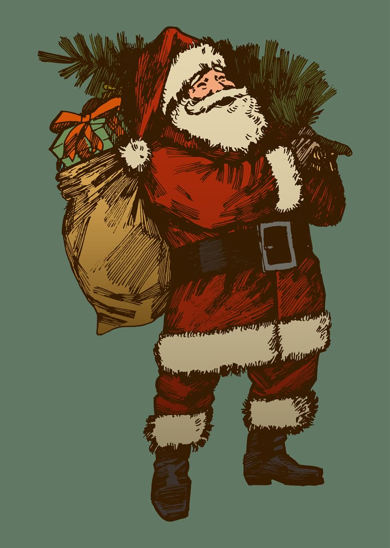 Culture Story: #1 Santa Claus, the man who brings gifts on Christmas