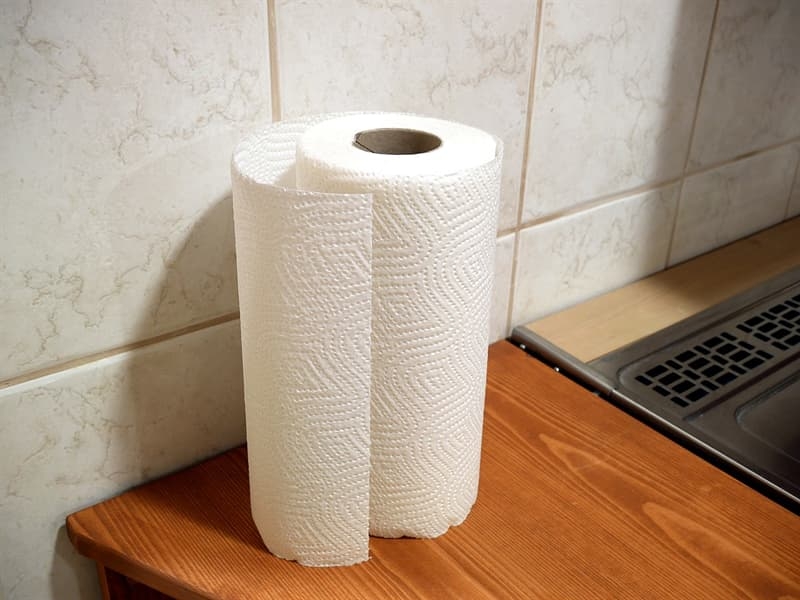Culture Story: #1 Using paper towels on every surface