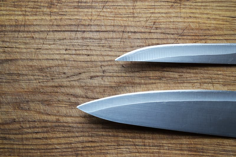 Culture Story: #2 Storing knives improperly