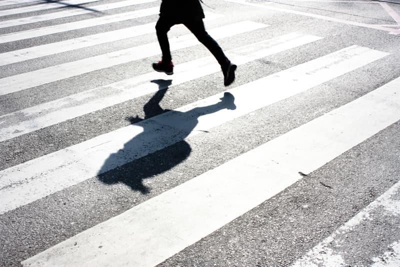 Society Story: #1 The white stripes were our favorite lanes on zebra crossings