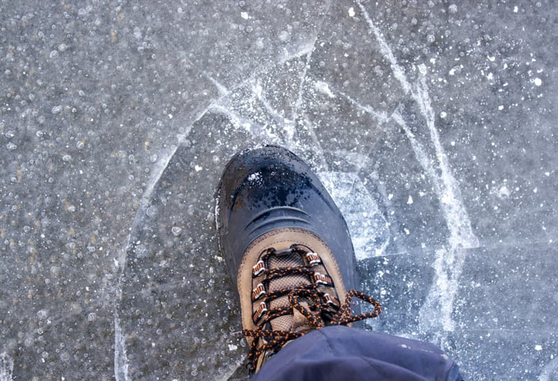 Society Story: #5 Who else loved the feel of stepping on puddles of thin-layered ice?