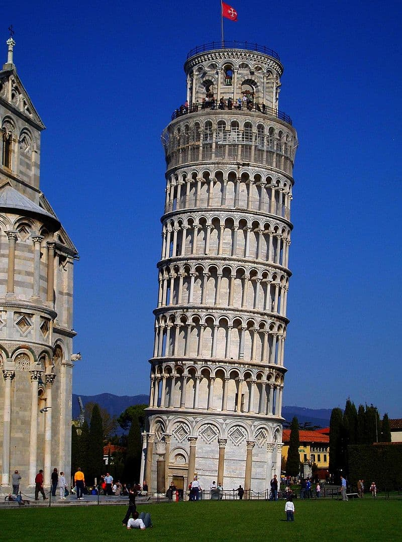 History Story: #4 The leaning tower
