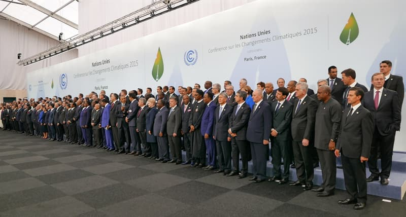 Geography Story: #3 The Paris Agreement on climate change is the treaty with the highest number of countries signed to it.