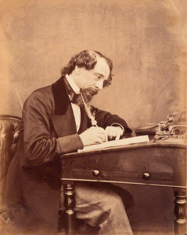 Culture Story: #5 Charles Dickens wrote 'Great Expectations' at a Victorian desk which is now in the Dickens museum