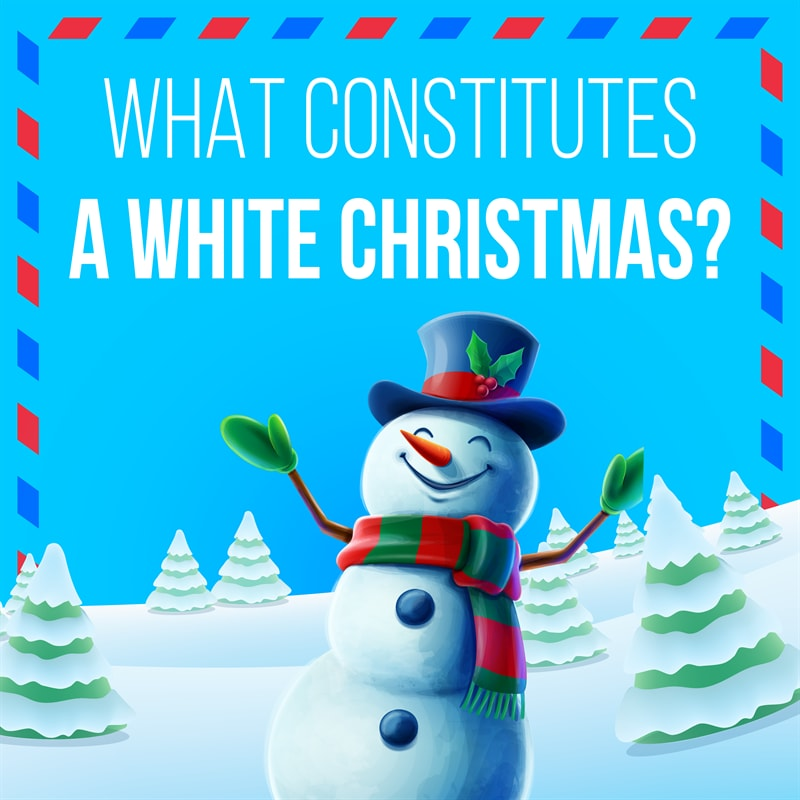 Culture Story: #4 Exactly how much snow is needed for an official White Christmas?