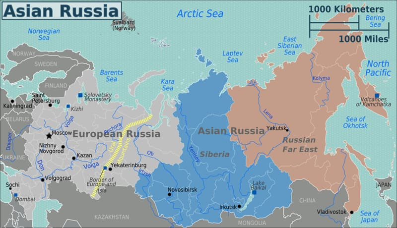 Geography Story: #7 The Asian part of Russia