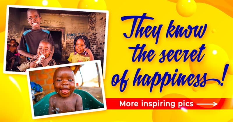 Society Story: 12 amazing pictures that prove happiness is free in Mozambique