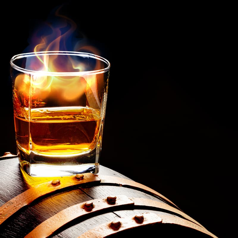 History Story: #7 Flood of flaming whiskey