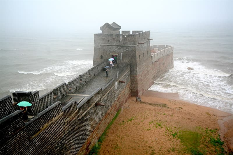 Culture Story: #6 The 3,750-mile long Great Wall of China ends at the Bo Hai sea