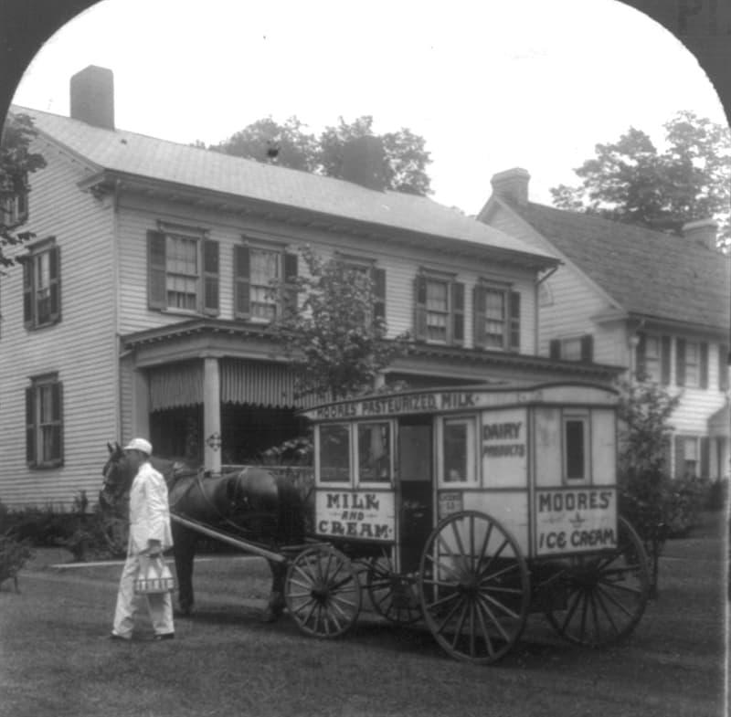 History Story: #6 Handy old milkmen