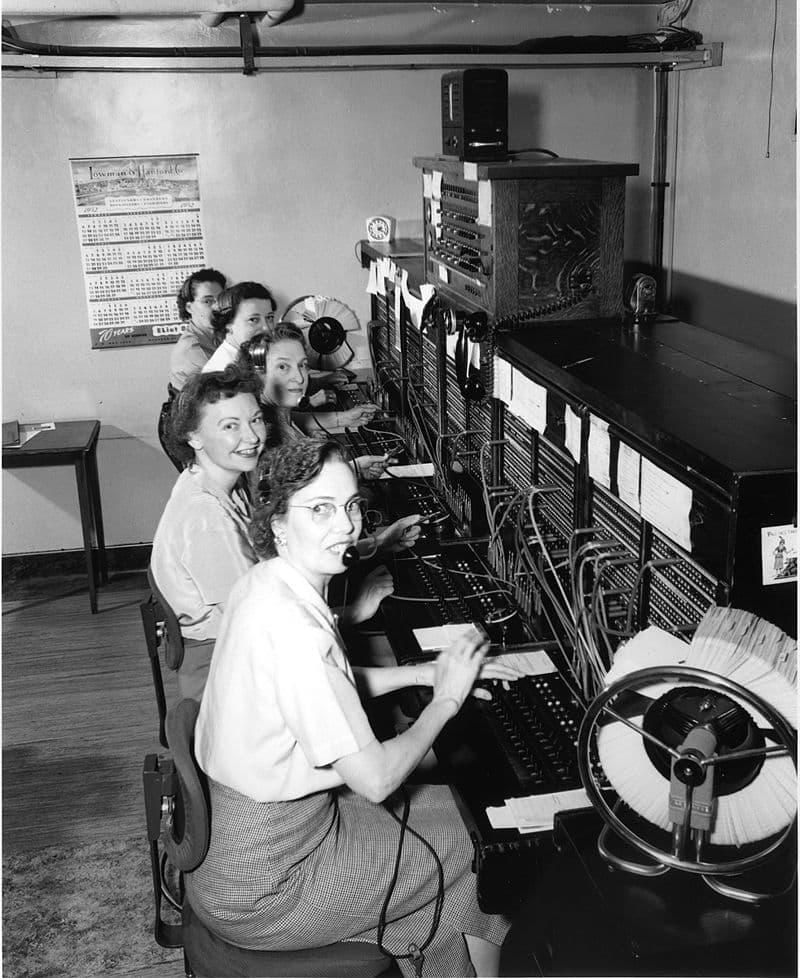 History Story: #7 Female switchboard operators