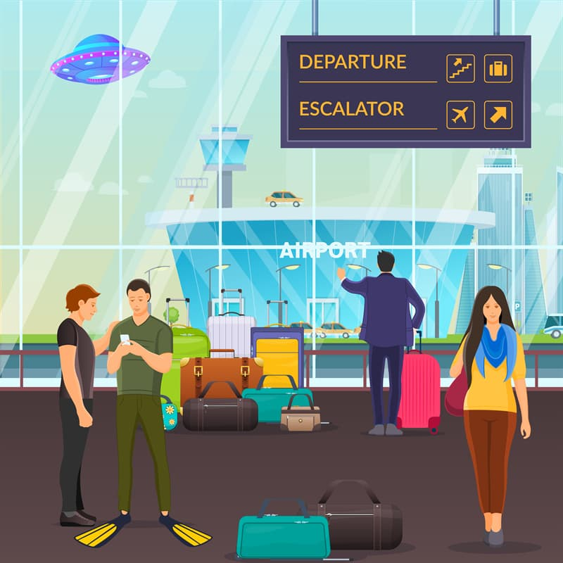 funny Story: #10 I love airports!