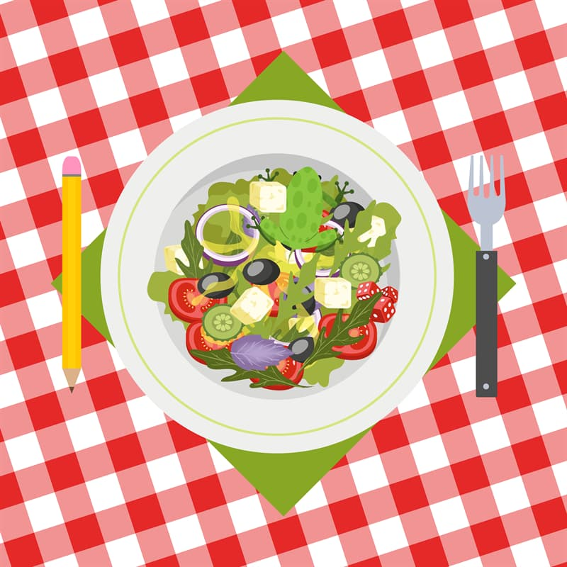 funny Story: #8 A perfect salad... or not?
