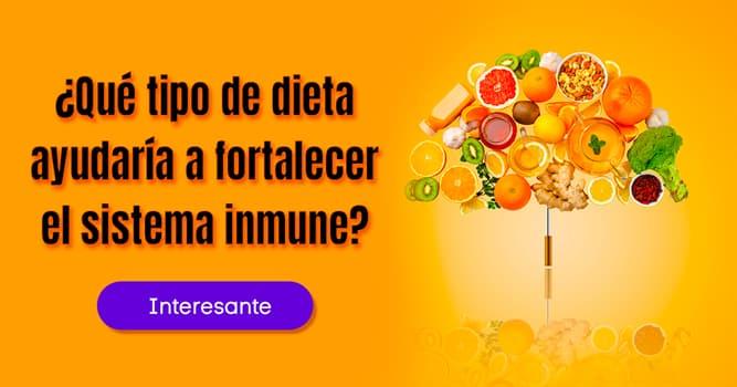 Salud Historia: ¿Qué tipo de dieta ayudaría a fortalecer el sistema inmune?