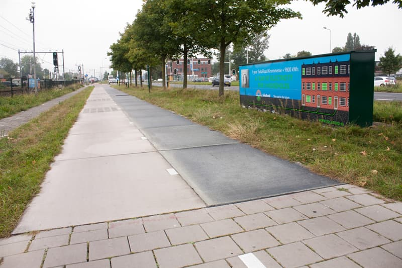 Geography Story: #1 It has the world's first solar energy-powered bike road