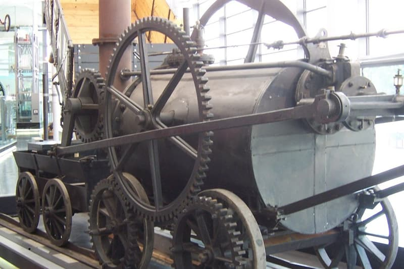 Geography Story: #1 The train was invented earlier than the bicycle