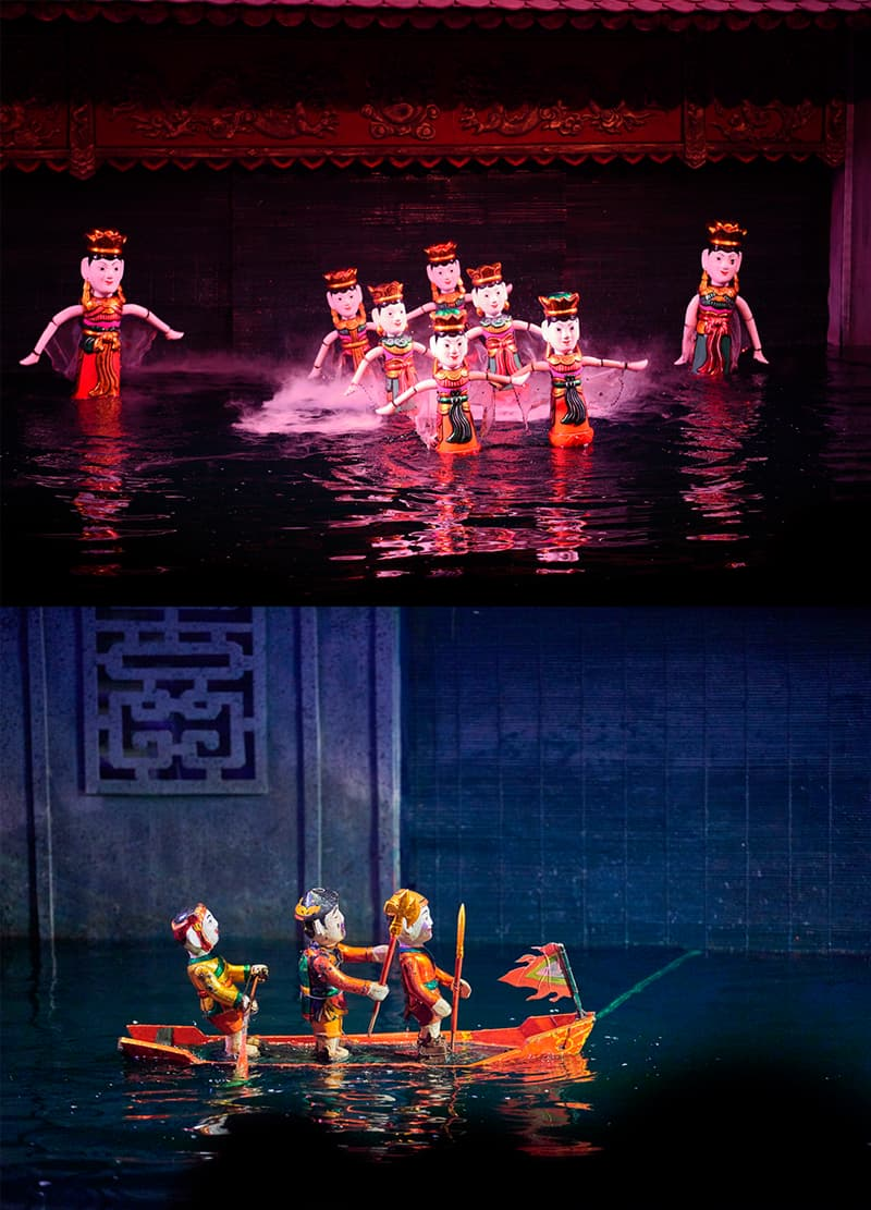 Geography Story: #7 Vietnam is home to the unique art of water puppetry