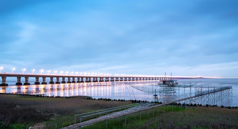 Geography Story: #9 The Hangzhou cross sea bay bridge in Zheijang province, China