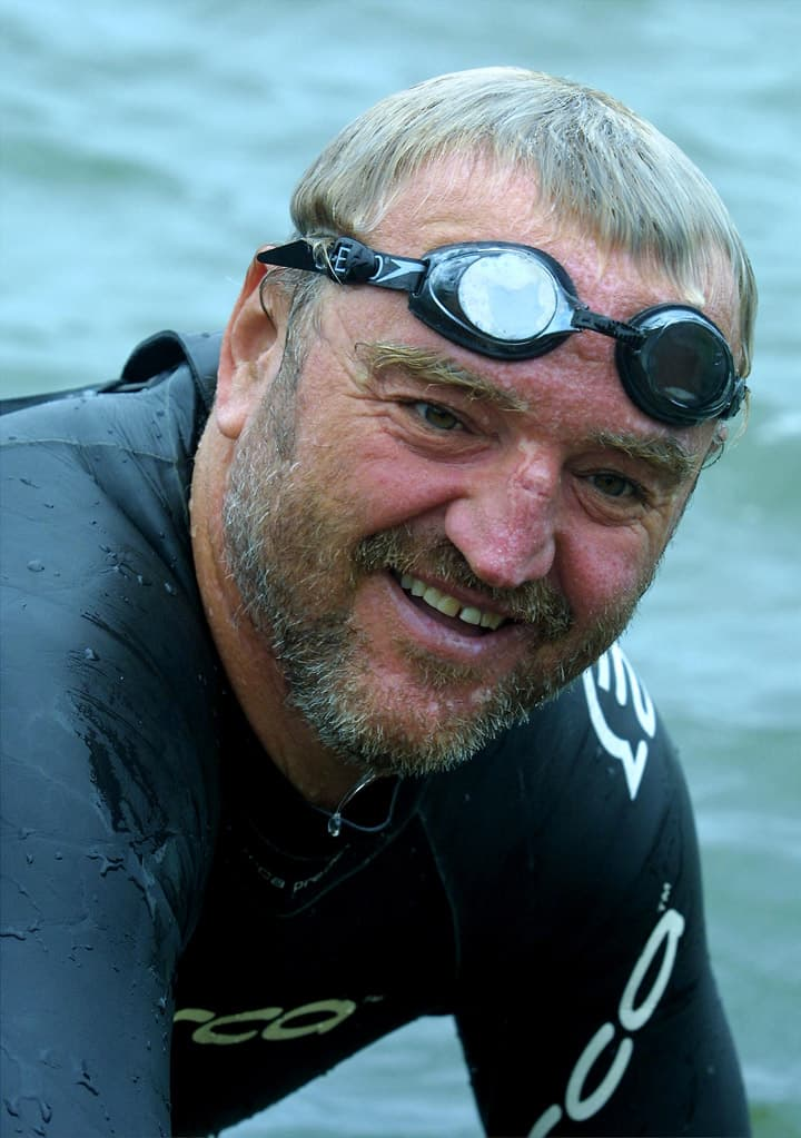 Geography Story: #1 Martin Steel (marathon swimmer) swam the entire Mississippi 68 days... that's approximately 34.5 miles a day!