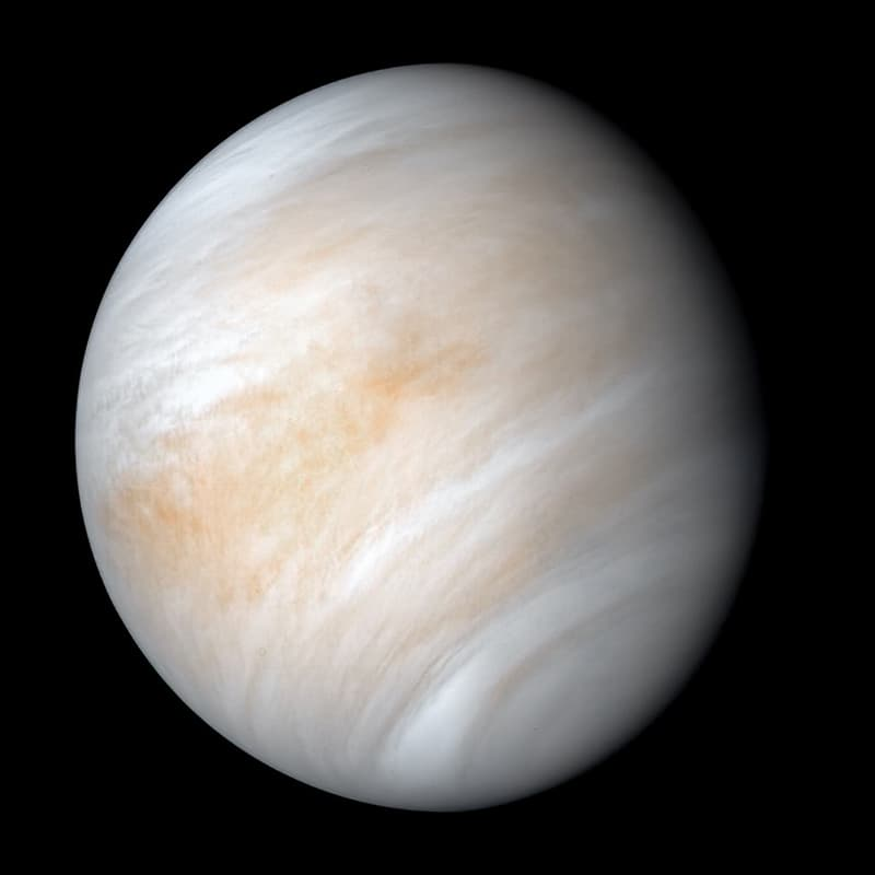 Science Story: #2 VENUS: when it snows on Venus, metals falls from the sky, not water.