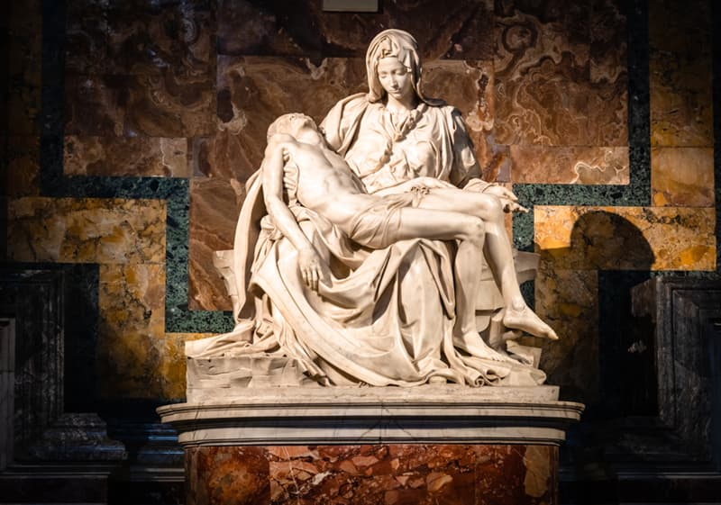 Culture Story: #2 There is only one work that features Michelangelo's signature - the famous Pieta
