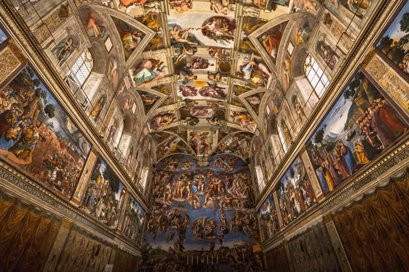 Culture Story: #3 The Sistine Chapel's ceiling took Michelangelo four years