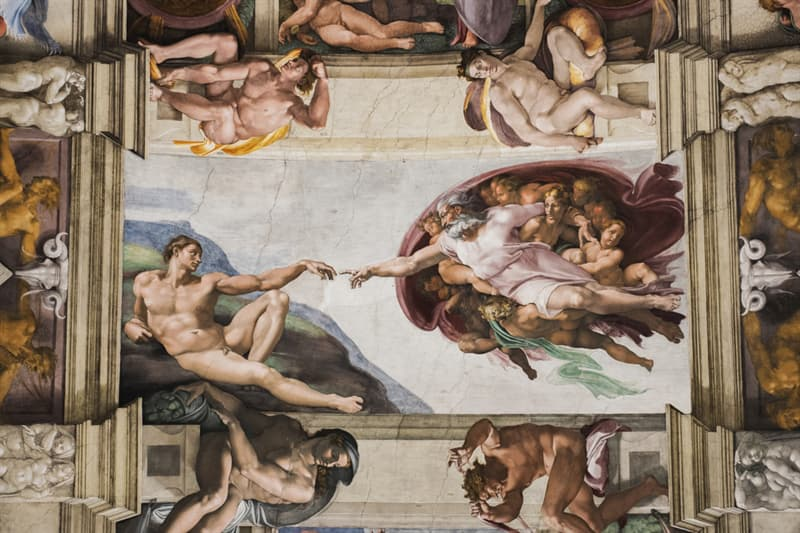 Culture Story: #5 Michelangelo might have painted a covert image of the brain in The Creation of Adam