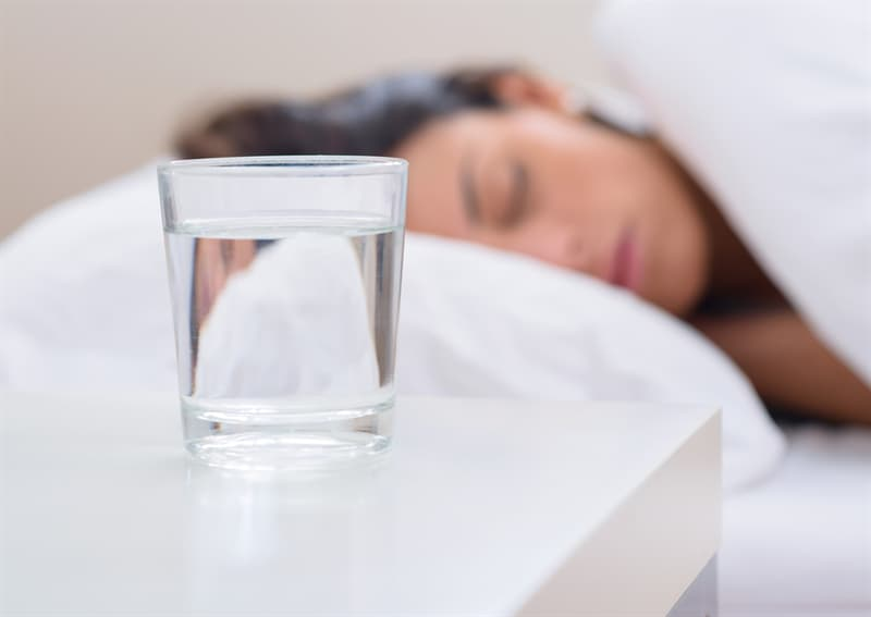 Culture Story: #5 In South India, water is placed near the bed at night for an unusual reason.